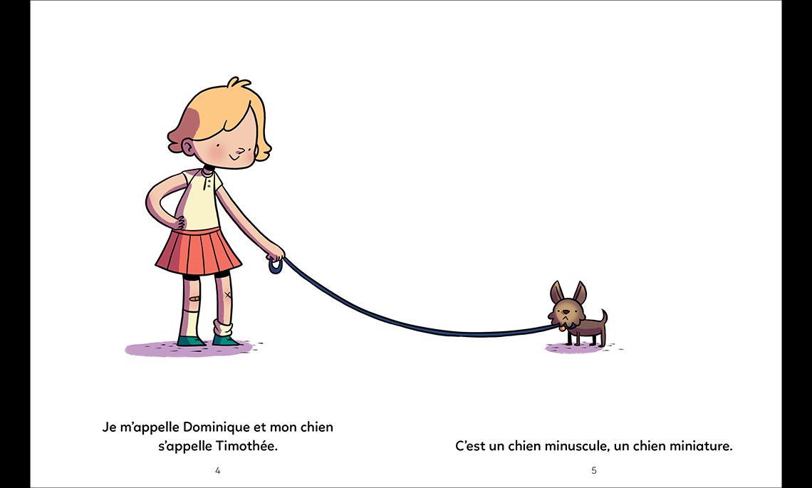 Dominique et son chien